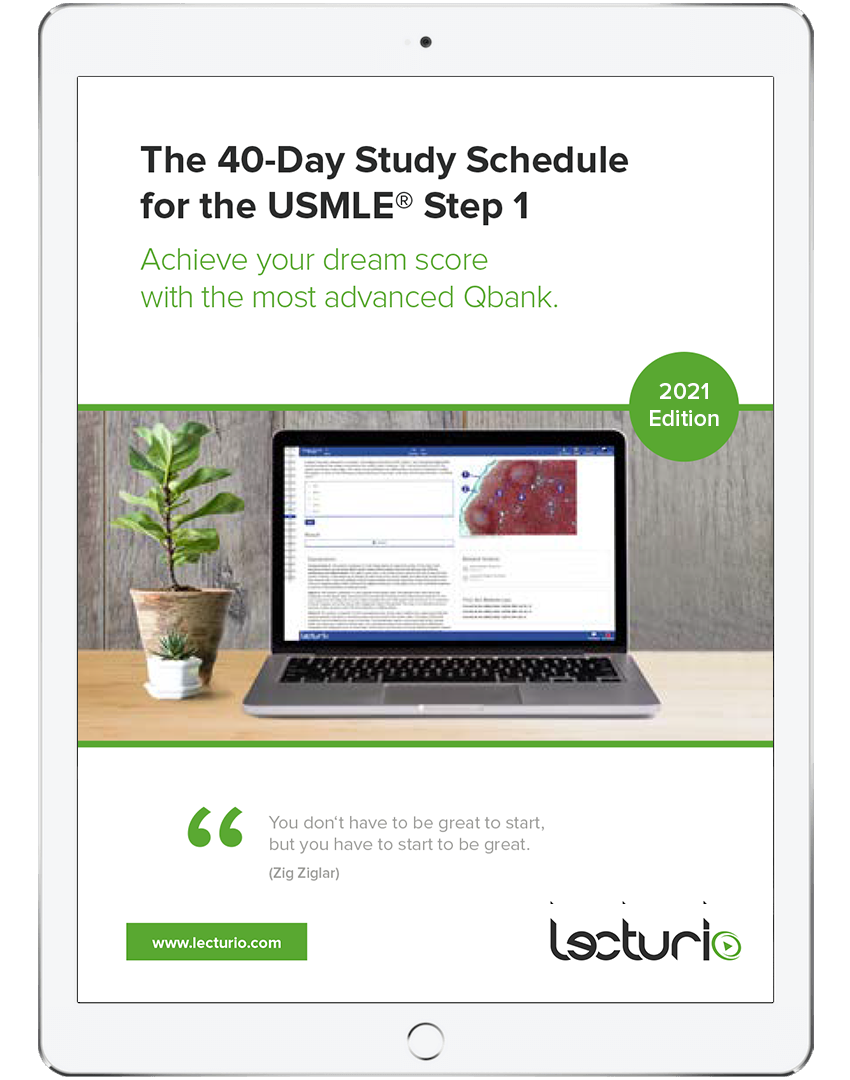 Free eBook – 40-Day Study Schedule for the USMLE® Step 1