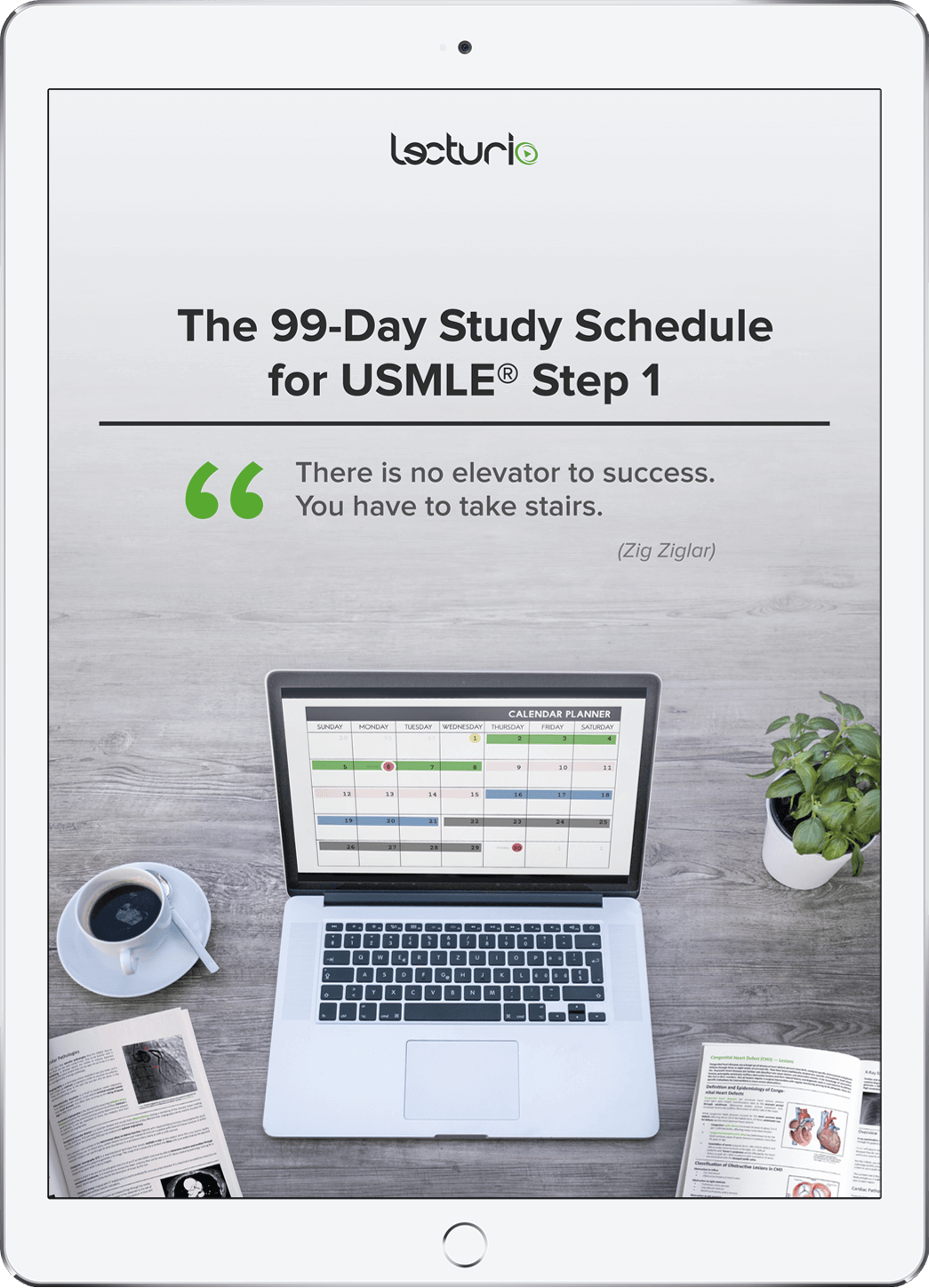 Free eBook – 99-Day Study Schedule for the USMLE® Step 1
