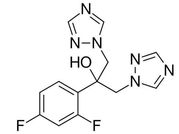 Chemical structure Fluconazole
