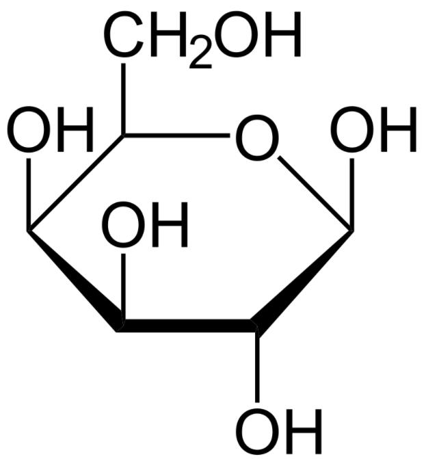 Galactose (Haworth projection)