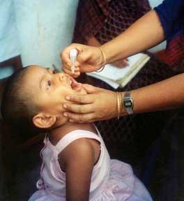 Poliodrops vaccine poliovirus