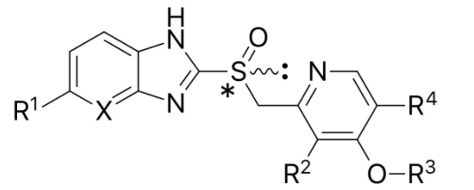 Proton pump inhibitors structure