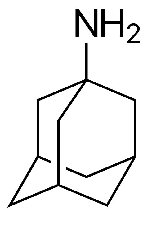 Structure of amantadine