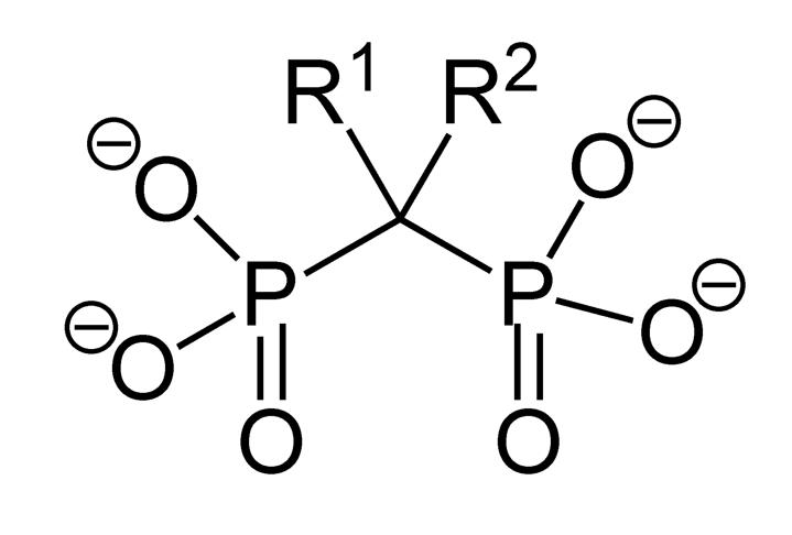 Structure of bisphosphonate