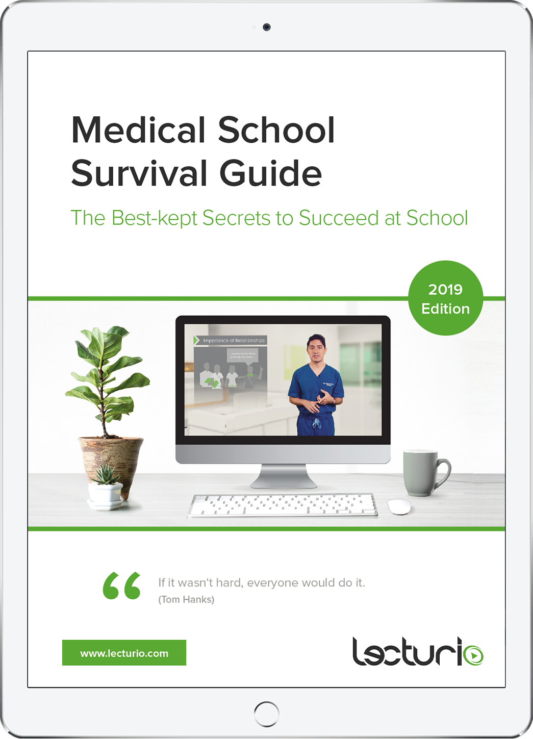 How to Survive Med School: Lecturio's Medical School